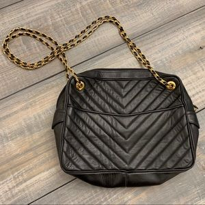 Vintage | Jay Herbert | Chevron Quilted Purse